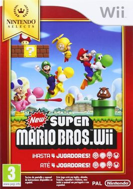 New Super Mario Bros  Selects - Wii