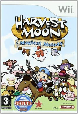 Harvest Moon : Magical Melody - Wii (Seminuevo)