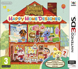 Animal Crossing Happy Home Designer + Tarieta Amiibo - 3DS