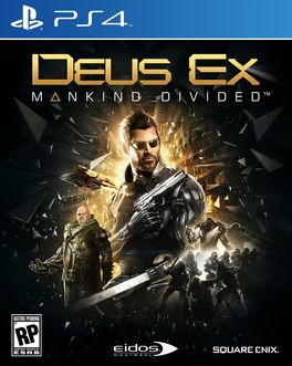 Deus EX Manking Divided - PS4 (Seminuevo)