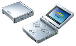 Consola Game Boy Advance SP Plata - GBA (Seminuevo)