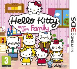 Hello Kitty Happy Happy Family - 3DS (Seminuevo)