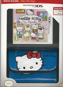Hello Kitty Happy Happy Family + Bolsa - 3DS