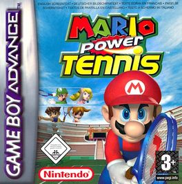 Mario Power Tennis - GBA (Seminuevo)