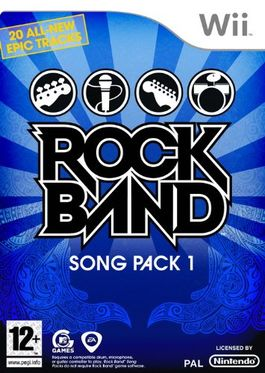 Rock Band Song Pack 1 - Wii