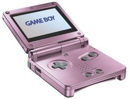 Consola Game Boy Advance SP Rosa - GBA (Seminuevo)