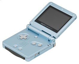 Consola Game Boy Advance SP Azul Aqua - GBA (Seminuevo) Ref. 13340637
