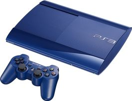 Consola PS3 Superslim 500GB Azul - PS3 (Seminuevo) Rf.: 03274459355685041