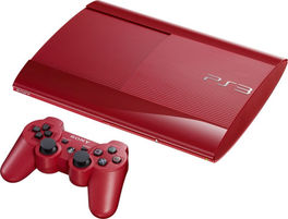 Consola PS3 Superslim 500GB Roja - PS3 (Seminuevo)