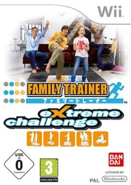 Family Trainer Extreme Challenge  - Wii  (Seminuevo)