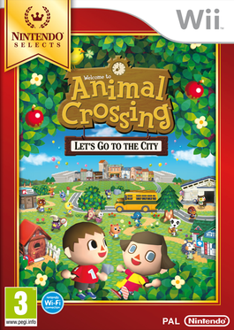 Animal Crossing: Lets Go to City - Wii (Seminuevo)