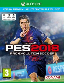 PES 2018 Pro Evolution Soccer 2018 - Xbox One