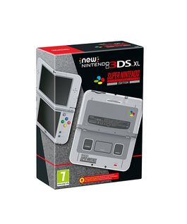 Consola New Nintendo 3DS XL SNES Edition - 3DS