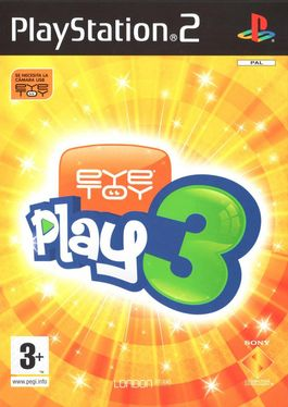 Eye Toy Play 3 - PS2